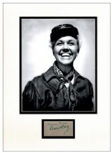Doris Day Autograph Signed Display - Calamity Jane